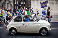 23.07.2016 - Movement for Europe - March For Europe & the FIAT 500 #Move4Europe