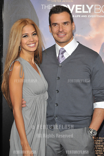 """Antonio Sabato Jr. & date at the Los Angeles premier of """"The Lovely Bones"""" at Grauman's Chinese Theatre, Hollywood..December 7, 2009  Los Angeles, CA.Picture: Paul Smith / Featureflash"""
