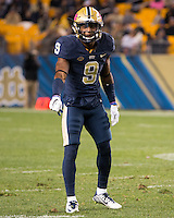 Pitt defensive back Jordan Whitehead. The North Carolina Tar Heels football team defeated the Pitt Panthers 26-19 on Thursday, October 29, 2015 at Heinz Field, Pittsburgh, Pennsylvania.
