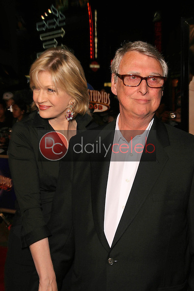 Diane Sawyer and Mike Nichols<br />