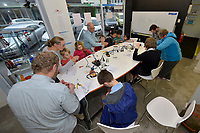 20170512 Hutt City Council - Soldering Space : Electronic Rocket Building