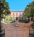 Yard of Hospital de los Venerables Sacerdotes, Seville, Spain