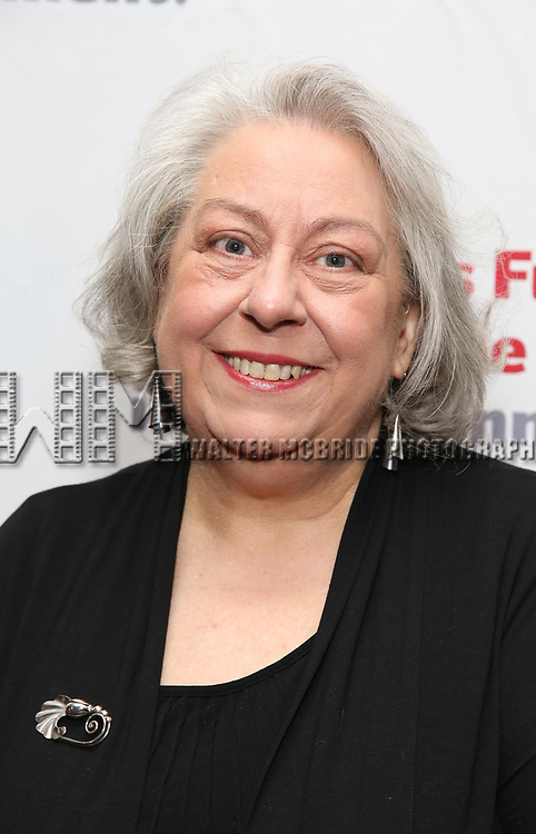Jayne Houdyshell attends The Actors Fund Annual Gala at the Marriott Marquis on 5/8//2017 in New York City.
