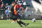 16 November 2008: Virginia's Michael Giallombardo. The University of Maryland defeated the University of Virginia 1-0 at WakeMed Stadium at WakeMed Soccer Park in Cary, NC in the men's ACC tournament final.