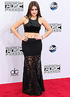 LOS ANGELES, CA, USA - NOVEMBER 23: Lauren Giraldo arrives at the 2014 American Music Awards held at Nokia Theatre L.A. Live on November 23, 2014 in Los Angeles, California, United States. (Photo by Xavier Collin/Celebrity Monitor)