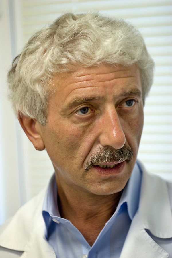 2007 doctor mikhail zobin in his medical centre for drug and alcohol