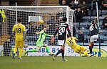 Dundee v St Johnstone&hellip;.31.12.16     Dens Park    SPFL<br />Kostadin Gadzhalov scores the seonf goal<br />Picture by Graeme Hart.<br />Copyright Perthshire Picture Agency<br />Tel: 01738 623350  Mobile: 07990 594431