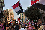 Egyptians continue to celebrate near Talat Harb square February 12, 2011 in Cairo, Egypt. The day after the revolution toppled the regime of President Hosni Mubarak, Egyptians continued to celebrate and began to focus on rebuilding their country and society. (Photo by Scott Nelson)