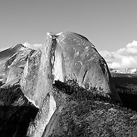 Half Dome at sunset, Yosemite NP