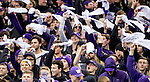 The University of Washington football team plays USC on November 12, 2016 (Photography by Scott Eklund/Red Box Pictures)