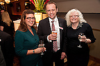 James Cockayne of Graham Penny flanked by Ashton Bond Gigg's Kathryn Meir (left) and Wendy Shaw