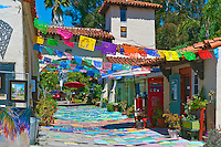 Spanish Village, Art Center, Artist Studios, Balboa Park, San Diego, Ca