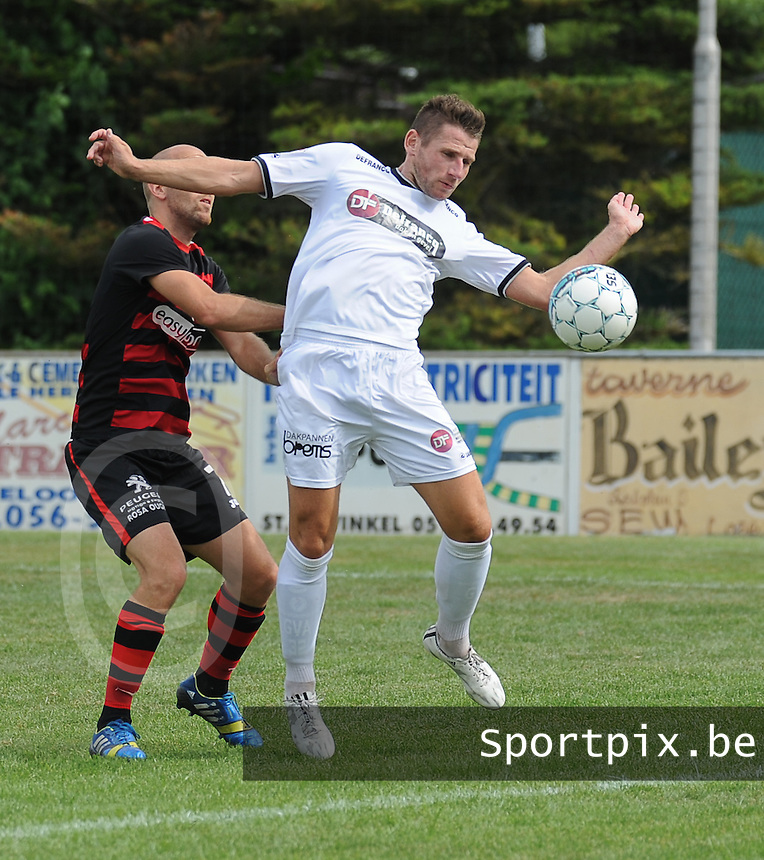 Sint-Eloois-Winkel Sport :<br /> G&uuml;nther Vanaudenaerde<br /> foto VDB / BART VANDENBROUCKE