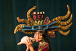 A Mexican dancer plays a snail, a Pre-Hispanic symbol of  life, during the opening of the IV World Water Forum in Mexico City, March 16. 2006.  Over ten thousand representatives of 120 countries are attending the meeting to discuss water issues. Photo by Javier Rodriguez © Javier Rodriguez