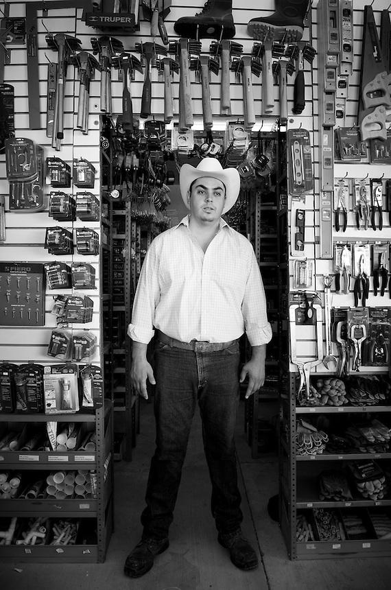 Francisco Raul Arellano Gutierrez. Hardware store owners in Cajititlan, Jalisco,  Mexico.