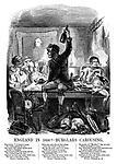 England in 1850! - Burglars Carousing.