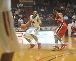 Ole Miss guard Dundrecous Nelson (5)  at the C.M. &quot;Tad&quot; Smith Coliseum in Oxford, Miss. on Saturday, January 15, 2011. Georgia won 98-76.  (AP Photo/Oxford Eagle, Bruce Newman)