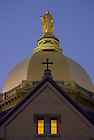 Golden Dome atop the Main Building<br />