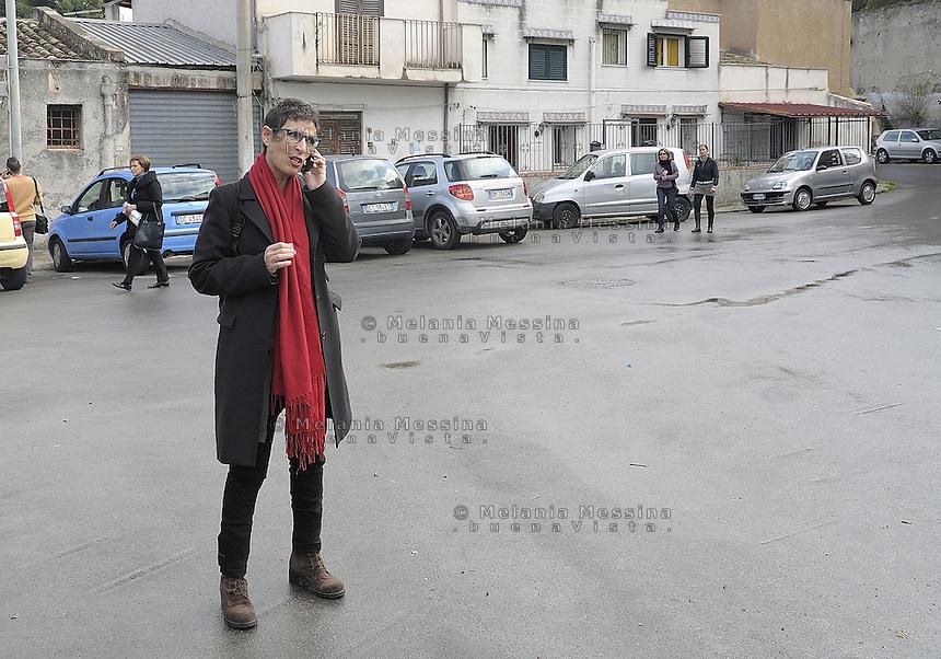 Antonella Monastra:centre-left candidate for mayor of Palermo..Antonella Monastra: candidata a sindaco per la città di Palermo nello schieramento di centrosinistra -