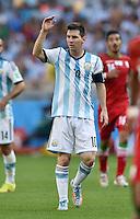 FUSSBALL WM 2014  VORRUNDE    GRUPPE F     Argentinien - Iran                         21.06.2014 Lionel Messi (Argentinien)