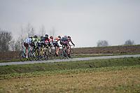 the (long) breakaway group<br /> <br /> 69th Kuurne-Brussel-Kuurne 2017 (1.HC)
