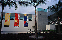 The MUROS cultural centre in Cuernavaca, Morelos, Mexico. This gallery houses the Jacques and Natasha Collection of Modern and Contemporary Mexican Art.