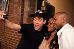April 30, 2011. Raleigh, NC.. After the show, Steve O took a photo with every fan who wanted one and then would post them online for people to copy for themselves.. Steve O, of Jackass fame, performed a stand up comedy routine at Goodnights in Raleigh. His new career path includes jokes about his carer on Jackass, as well as a few of the stunts that he is famous for.