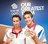 Rowing post-competition Press Conference at Team GB House, Stratford, London, Great Britain <br />