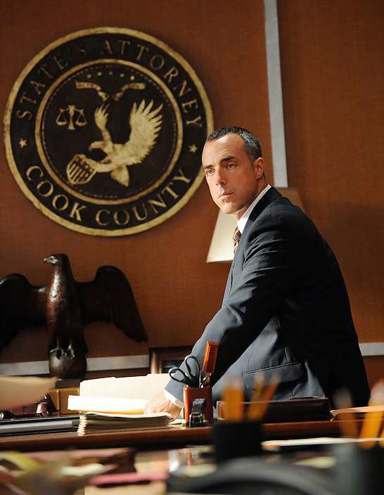 """""""Taking Control""""--Torn between her passion for Will and her marriage to Peter, Alicia is forced to make her choice.  Meanwhile, she is still at odds with StateÕs Attorney Glenn Childs (Titus Welliver), on the season 2 premiere of THE GOOD WIFE, Tuesday, Sept. 28 (10:00-11:00 PM, ET/PT) on the CBS Television Network. Photo: David M. Russell/CBS ©2010 CBS Broadcasting Inc. All Rights Reserved."""