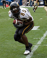 08 September 2007: Grambling wide receiver Kovarus Hills..The Pitt Panthers defeated the Grambling State Tigers 34-10 on September 08, 2007 at Heinz Field, Pittsburgh, Pennsylvania.