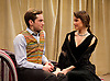 The Green Bay Tree <br /> by Mordaunt Shairp<br /> at the Jermyn Street Theatre, London, Great Britain <br /> press photocall <br /> 26th November 2014 <br /> directed by Tim Luscombe<br /> <br /> Poppy Drayton as Leonora<br /> <br /> Christopher Leveaux as Julian <br /> <br /> <br /> <br /> <br /> Photograph by Elliott Franks <br /> Image licensed to Elliott Franks Photography Services
