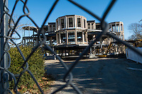 Newport, Rhode Island - New house construction - Cliff Walk - Mansions - 3 December 2016
