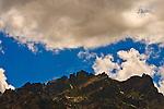 Sierra Buttes Mountain Range, Northern California.