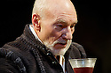 """London, UK. 22/02/2012. """"Bingo"""" by Edward Bond, opens at the Young Vic, starring Patrick Stewart as William Shakespeare. Photo credit: Jane Hobson"""