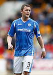 St Johnstone v Dundee United...26.09.15  SPFL   McDiarmid Park, Perth<br /> Tam Scobbie<br /> Picture by Graeme Hart.<br /> Copyright Perthshire Picture Agency<br /> Tel: 01738 623350  Mobile: 07990 594431