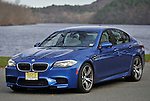 (Boston, MA, 11/14/12) 2013 BMW M5 is seen in Boston on Wednesday, November 14, 2012. Staff photo by Christopher Evans