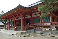"The main hall at Motsuji temple in Hiraizumi, Japan, 27 August 2008. The temple was founded in 850.Hiraizumi in Northern Japan flourished as the seat of the Oshu Fujiwara clan for around 100 years from the end of the 12th century. The city was built to be an earthly recreation of the Buddhist ""Pure Land"" or Nirvana."