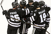 Brian Pinho (PC - 26), Erik Foley (PC - 12), Scott Conway (PC - 10), Jake Walman (PC - 19), Josh Monk (PC - 27) - The Boston University Terriers tied the visiting Providence College Friars 2-2 on Saturday, December 3, 2016, at Agganis Arena in Boston, Massachusetts.