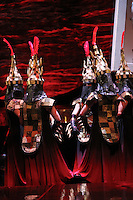 Seattle Opera Turandot Gold Cast Dress  Executioner.