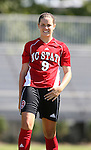 NC State's Katie Ruiz on Sunday, October 1st, 2006 at Koskinen Stadium in Durham, North Carolina. The Duke Blue Devils defeated the North Carolina State University Wolfpack 3-0 in an Atlantic Coast Conference NCAA Division I Women's Soccer game.