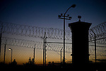 A guard tower at the overcrowded California State Prison &ETH; Sacramento in Folsom, California, Thursday, Dec. 7, 2006. The California prison system is so crowded that 16,000 inmates are assigned cots in hallways and gyms &ETH; leading Gov. Arnold Schwarzenegger to declare a state of emergency for the system.