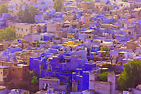 The Blue City, Jodhpur, Rajasthan, India