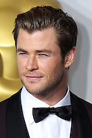 HOLLYWOOD, LOS ANGELES, CA, USA - MARCH 02: Chris Hemsworth at the 86th Annual Academy Awards - Press Room held at Dolby Theatre on March 2, 2014 in Hollywood, Los Angeles, California, United States. (Photo by Xavier Collin/Celebrity Monitor)