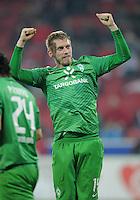 FUSSBALL   1. BUNDESLIGA  SAISON 2011/2012   11. Spieltag   29.10.2011 1.FSV Mainz 05 - SV Werder Bremen JUBEL Werder Bremen; Torschuetze zum 1-2 Aaron Hunt
