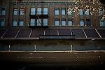 A boarded-up building in downtown Stockton, Calif., March 6, 2012.