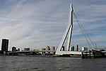 The Erasmus Bridge in Rotterdam, Holland