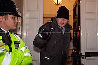 """30.03.2015 - Demo at """"Legatum Institute's Vision of Capitalism"""" with Boris Johnson"""