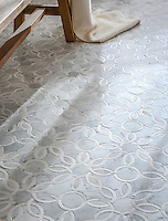 Lillet&trade;, a handmade mosaic shown in polished and honed Carrara and polished Calacatta, is part of The Studio Line of Ready to Ship mosaics. All mosaics in this collection are ready to ship within 48 hours. <br />