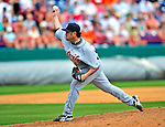 15 March 2009: Detroit Tigers' pitcher Juan Rincon on the mound during a Spring Training game against the Washington Nationals at Space Coast Stadium in Viera, Florida. The Tigers shut out the Nationals 3-0 in the Grapefruit League matchup. Mandatory Photo Credit: Ed Wolfstein Photo