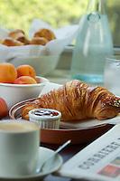 Italian breakfast with Fruit
